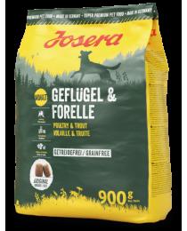 JOSERA Geflügel & Forelle 900г
