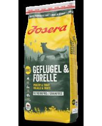 JOSERA Geflügel & Forelle 15кг