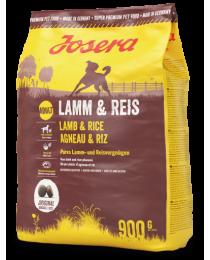 JOSERA Lamm & Reis 900г